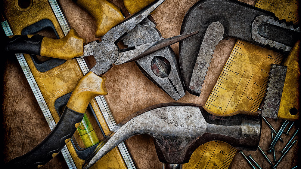 tools or equipment