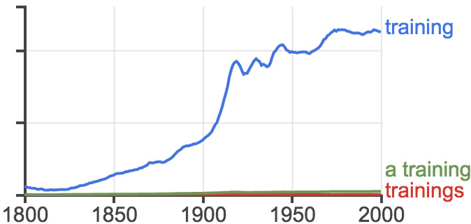training ngram
